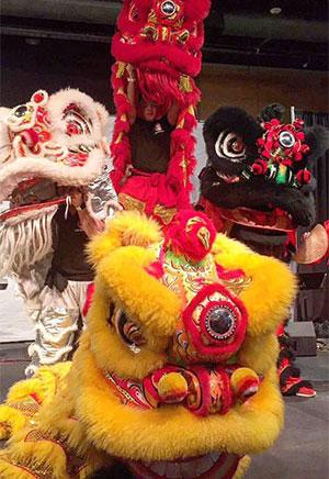 Duoc Su Lion Dancers