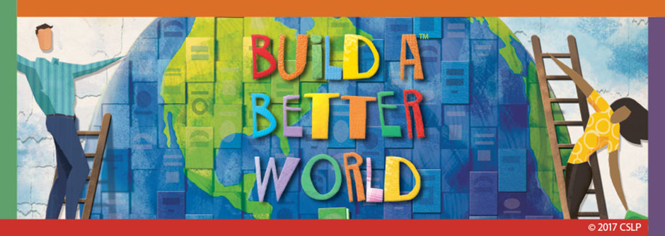 build a better world graphic