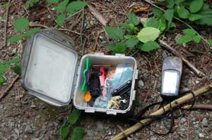Geocache and GPS