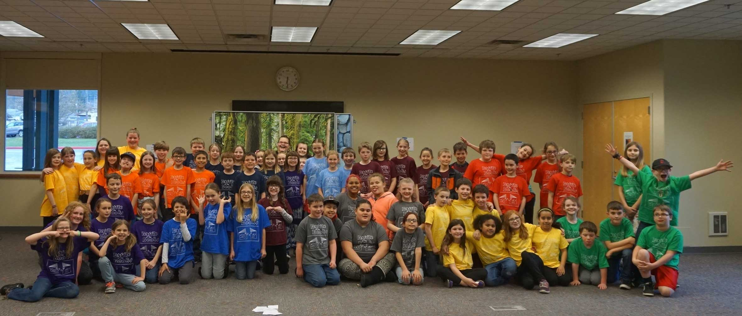 Battle of the Books: 2016-2017 teams