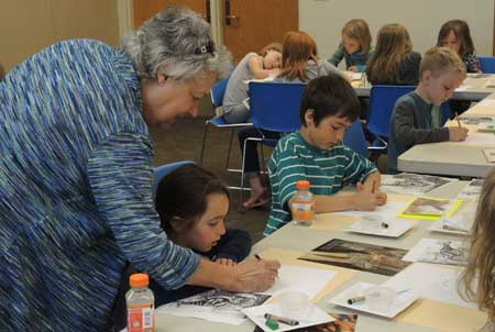 Kids Create Art at the Sequim Branch Library