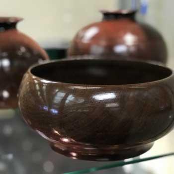 Hand-Turned Wood Bowls