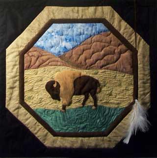 Buffalo Shield by Rae Powell-Walz