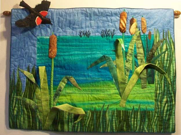 Cattail Pond by Rae Powell-Walz