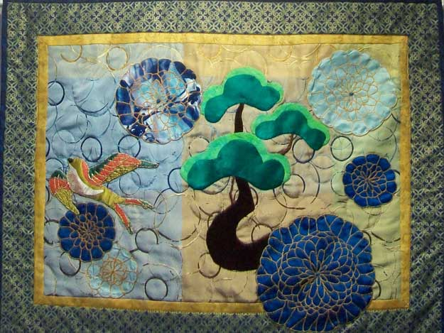 Gilded Garden by Rae Powell-Walz
