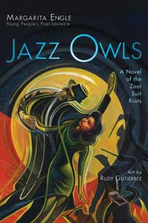 Jazz Owls: A Novel of the Zoot Suit Riots book jacket