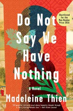Do Not Say We Have Nothing book jacket