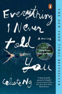 Everything I Never Told You book jacket