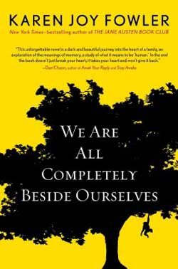 We Are Completely Beside Ourselves book jacket