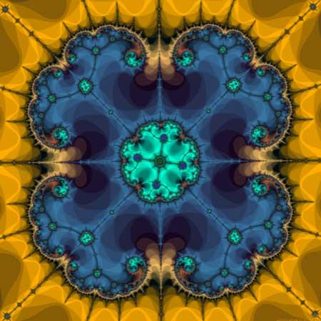 fractal print by Gary Allen Smith