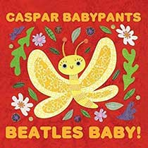 album cover, Beatles Baby! by Caspar Babypants
