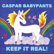album cover, Keep It Real! by Caspar Babypants