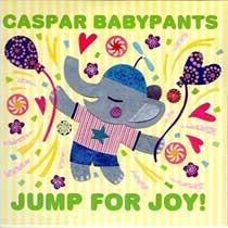 album cover, Jump For Joy! by Caspar Babypants