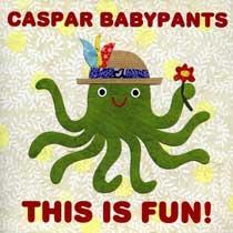 album cover, This Is Fun! by Caspar Babypants