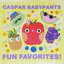 album cover, Fun favorites! by Caspar Babypants