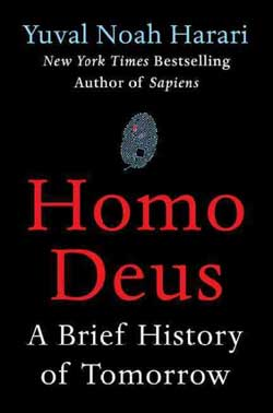 Homo Deus: A Brief History of Tomorrow book jacket