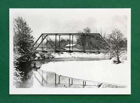 Dungeness Bridge in Snow, 1912