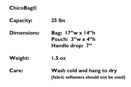 nylon bag details